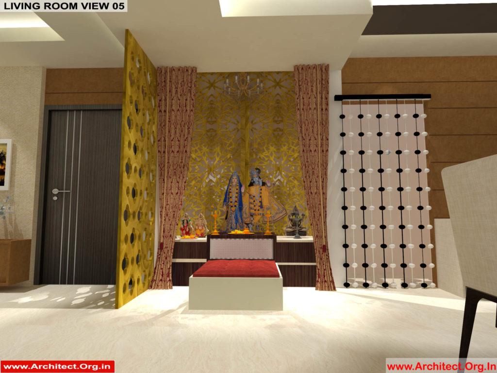 Mr.Pankaj Singhania-FR-Ms.Rakhi Singhania-Nagpur Maharashtra-House Interior-Living room-view-05