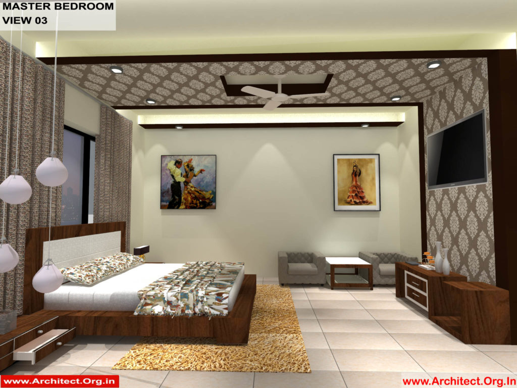 Mr.Pankaj Singhania-FR-Ms.Rakhi Singhania-Nagpur Maharashtra-House Interior-Master bedroom-view-03