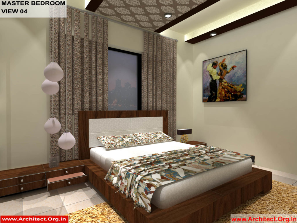 Mr.Pankaj Singhania-FR-Ms.Rakhi Singhania-Nagpur Maharashtra-House Interior-Master bedroom-view-04