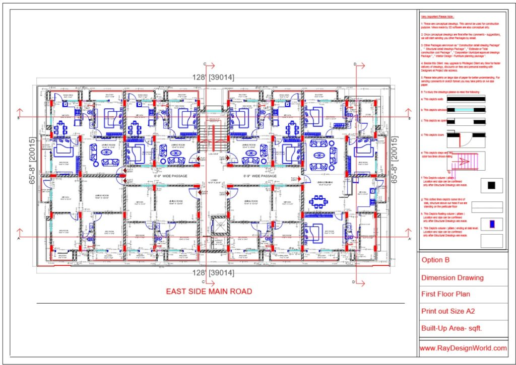 Mr.Rajesh kumar - Nawada Bihar - Apartment- First Floor Plan-1b