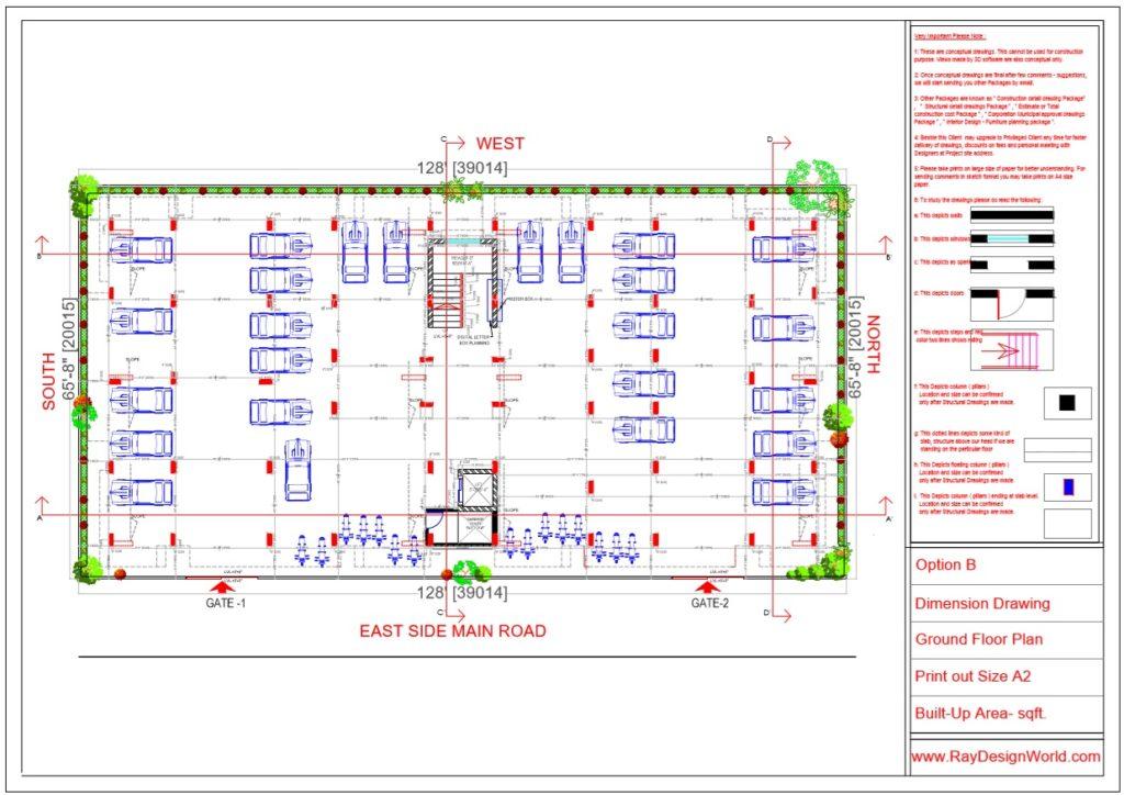 Mr.Rajesh kumar - Nawada Bihar - Apartment- Ground Floor Plan-1a