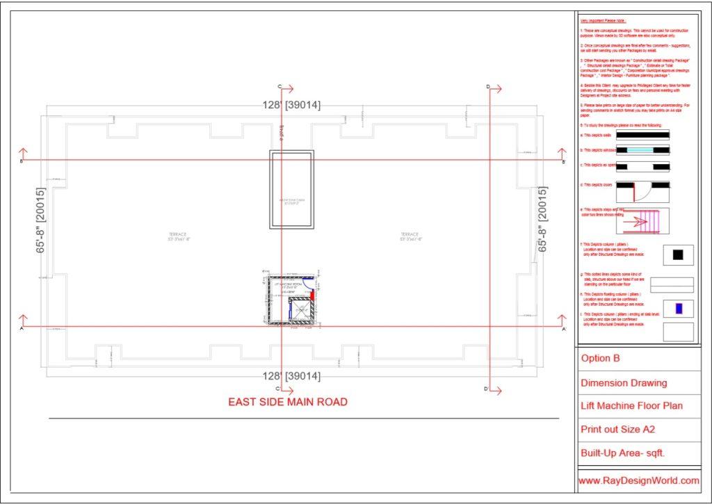 Mr.Rajesh kumar - Nawada Bihar - Apartment- Lift Machin Floor Plan-1e