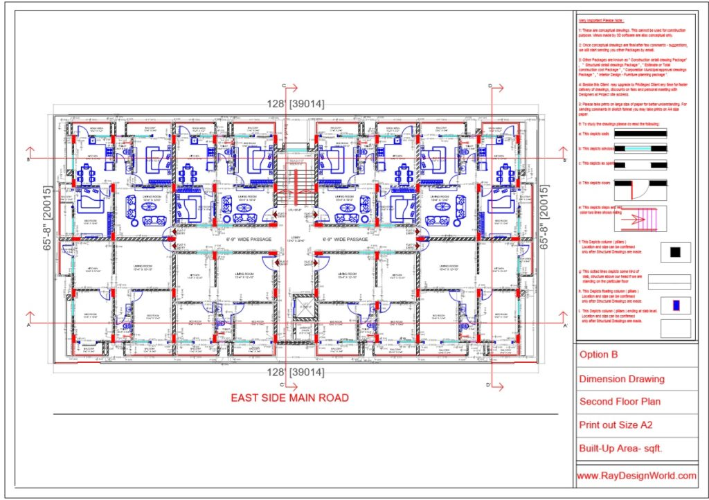 Mr.Rajesh kumar - Nawada Bihar - Apartment- Second Floor Plan-1c