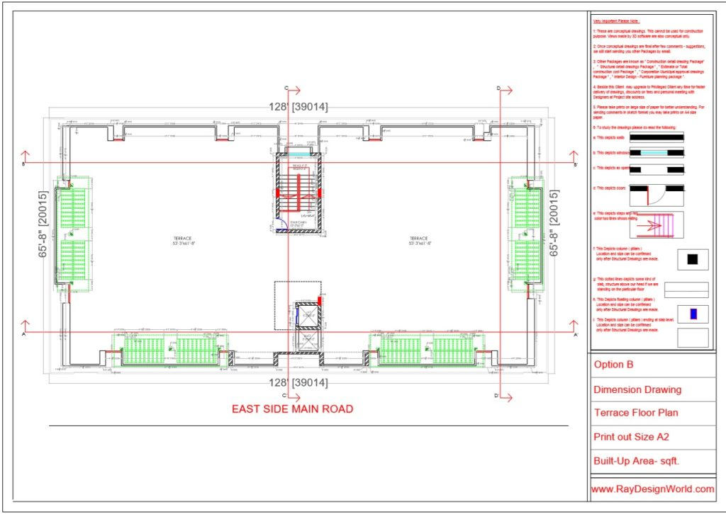 Mr.Rajesh kumar - Nawada Bihar - Apartment- Terrace Floor Plan-1d