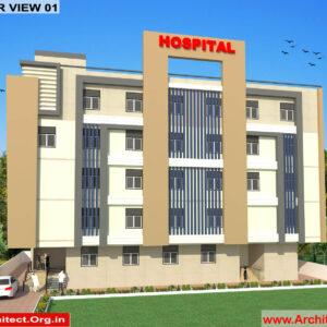 Dr.Ritesh Kumar-Ranchi Jharkhand-Hospital-3D Exterior View-01