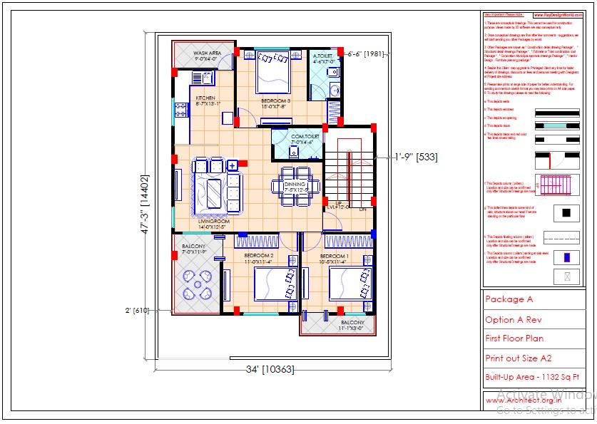 Mr.Sainath-FR-Devid Raynell-Chennai Tamilnadu-Bunglow-First floor plan