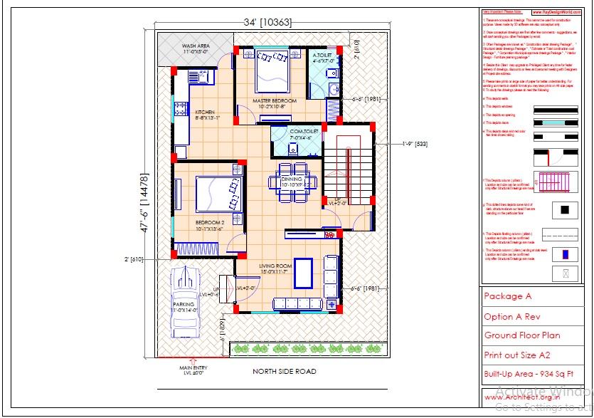 Mr.Sainath-FR-Devid Raynell-Chennai Tamilnadu-Bunglow-Ground floor plan