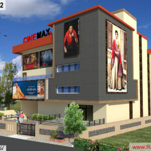 Mr.Saurabh Shrivastava-Guna MadhyaPradesh-Commercial Complex-3D Exterior view-02