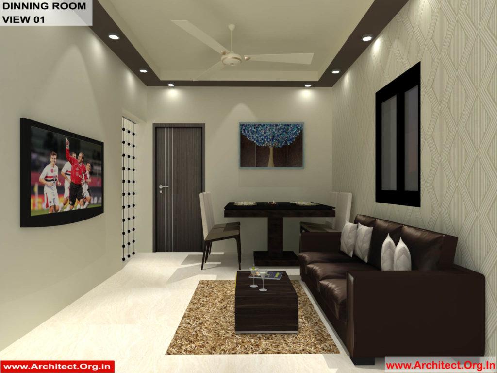 Mr.Shibu-Cuttuck Odisha-House interior-Dinning room-View-01
