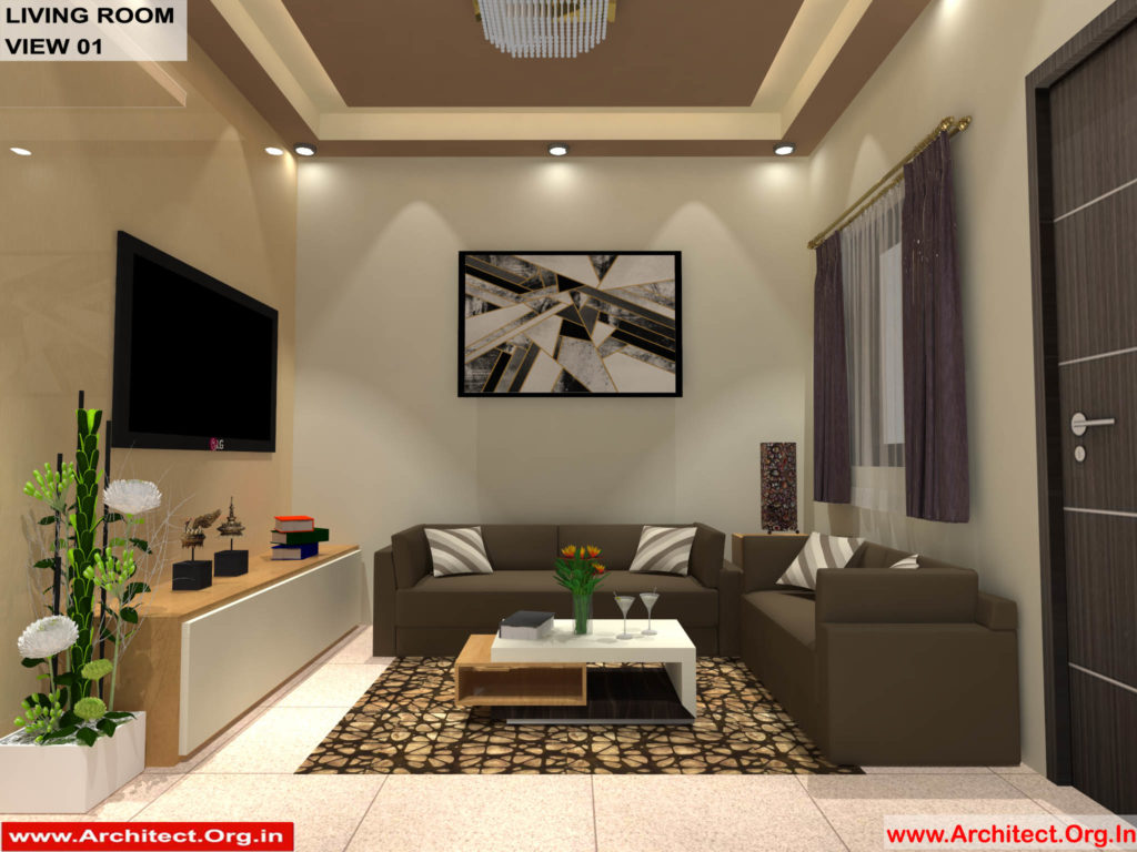 Mr.Shibu-Cuttuck Odisha-House interior-Drawing room View-01