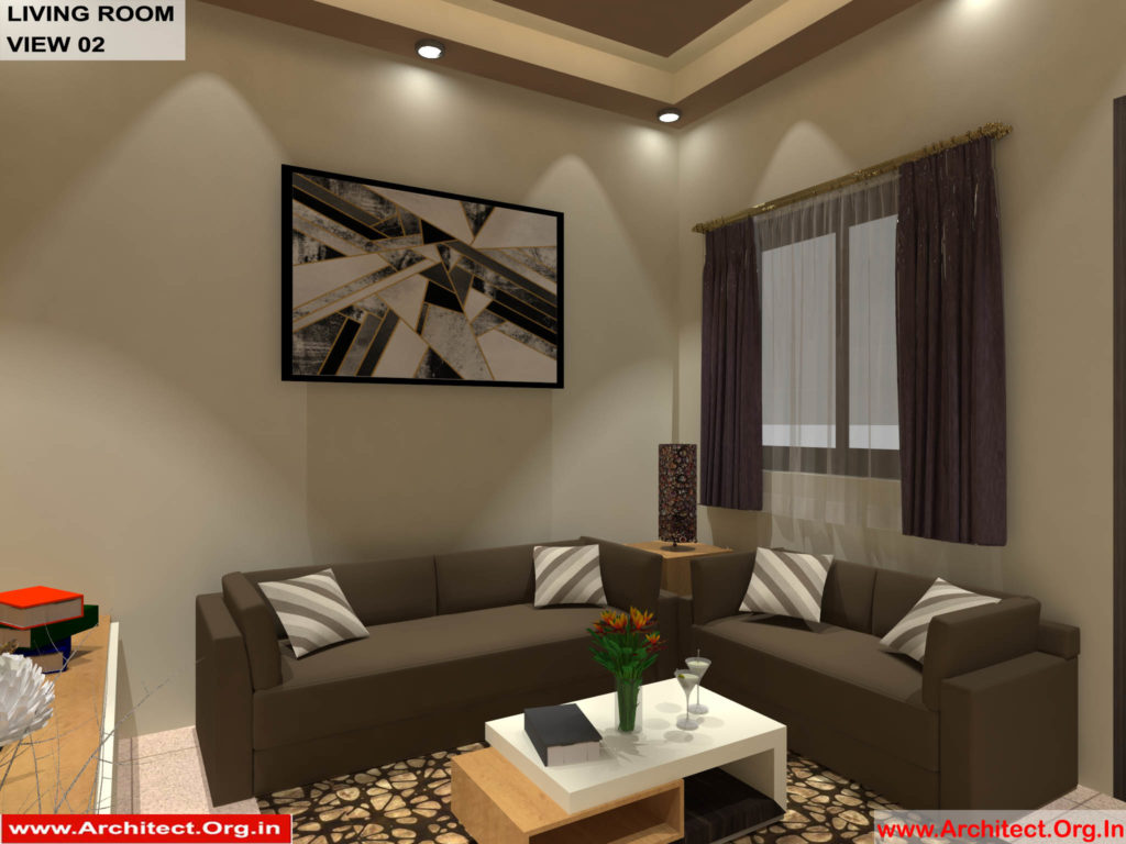 Mr.Shibu-Cuttuck Odisha-House interior-Drawing room View-02
