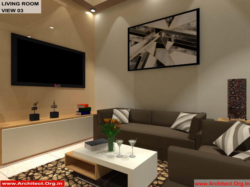 Mr.Shibu-Cuttuck Odisha-House interior-Drawing room View-03