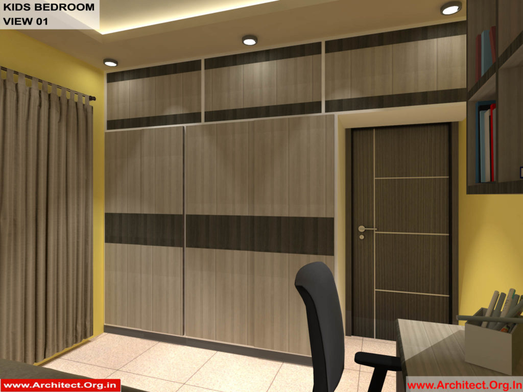Mr.Shibu-Cuttuck Odisha-House interior-Kids bedroom View-01