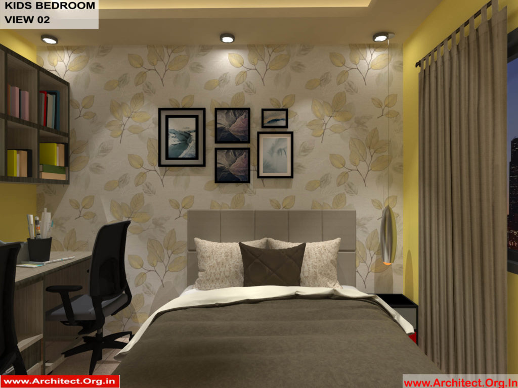 Mr.Shibu-Cuttuck Odisha-House interior-Kids bedroom View-02