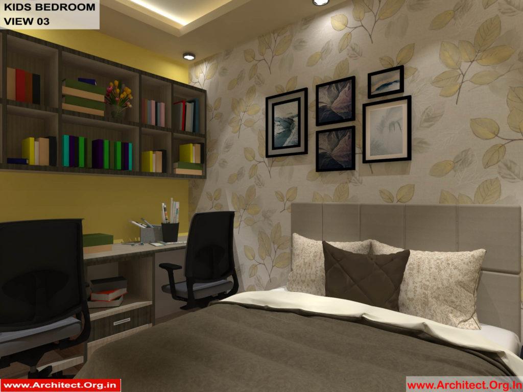 Mr.Shibu-Cuttuck Odisha-House interior-Kids bedroom View-03
