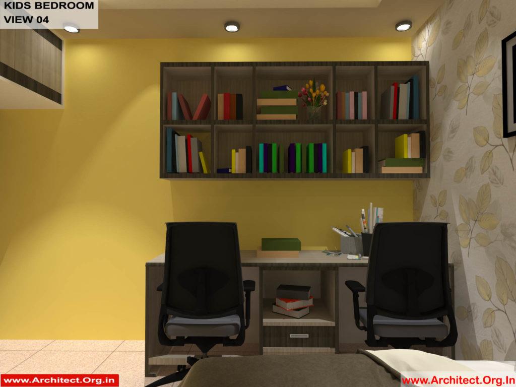 Mr.Shibu-Cuttuck Odisha-House interior-Kids bedroom View-04