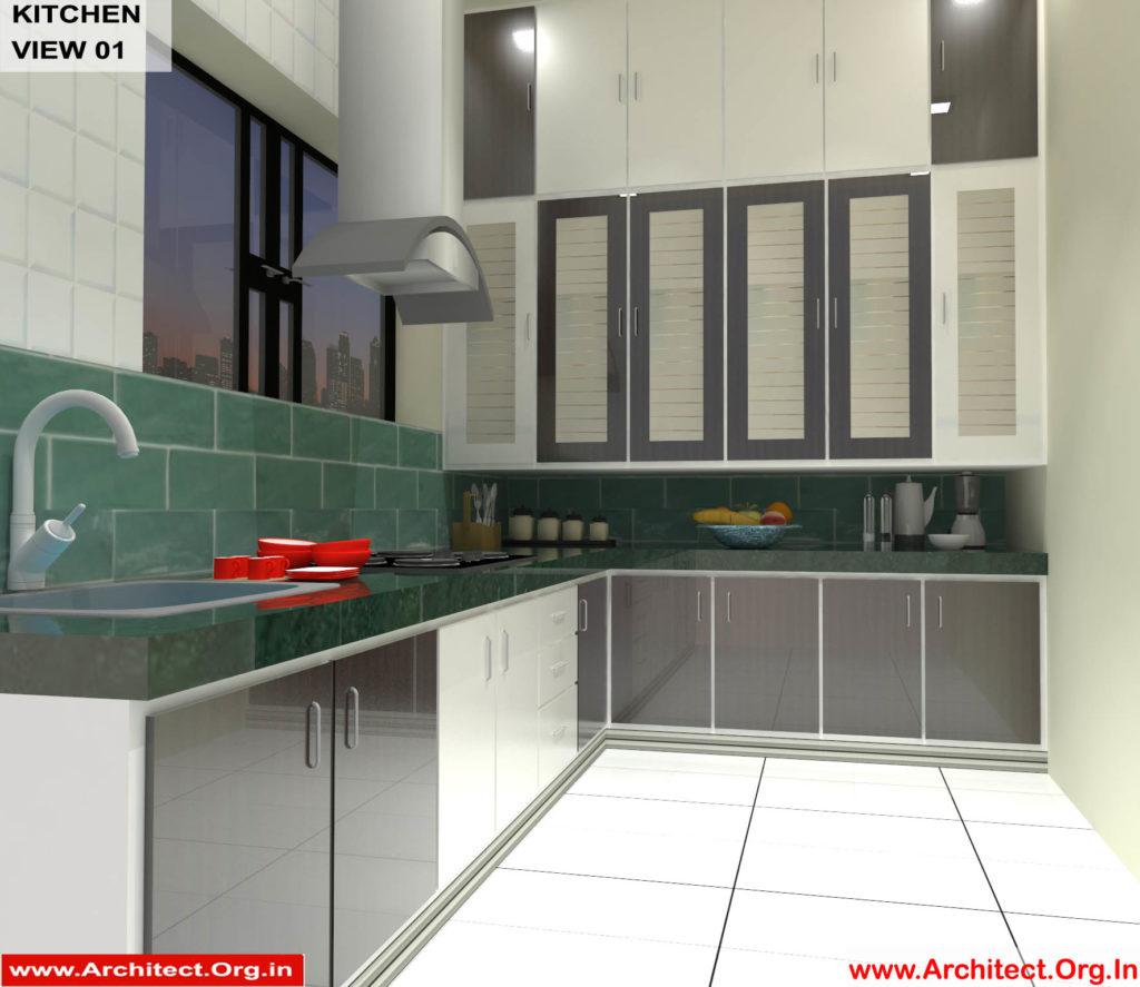 Mr.Shibu-Cuttuck Odisha-House interior-Kitchen View-01