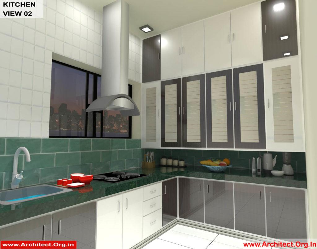 Mr.Shibu Cuttuck Odisha-House interior-Kitchen View-02