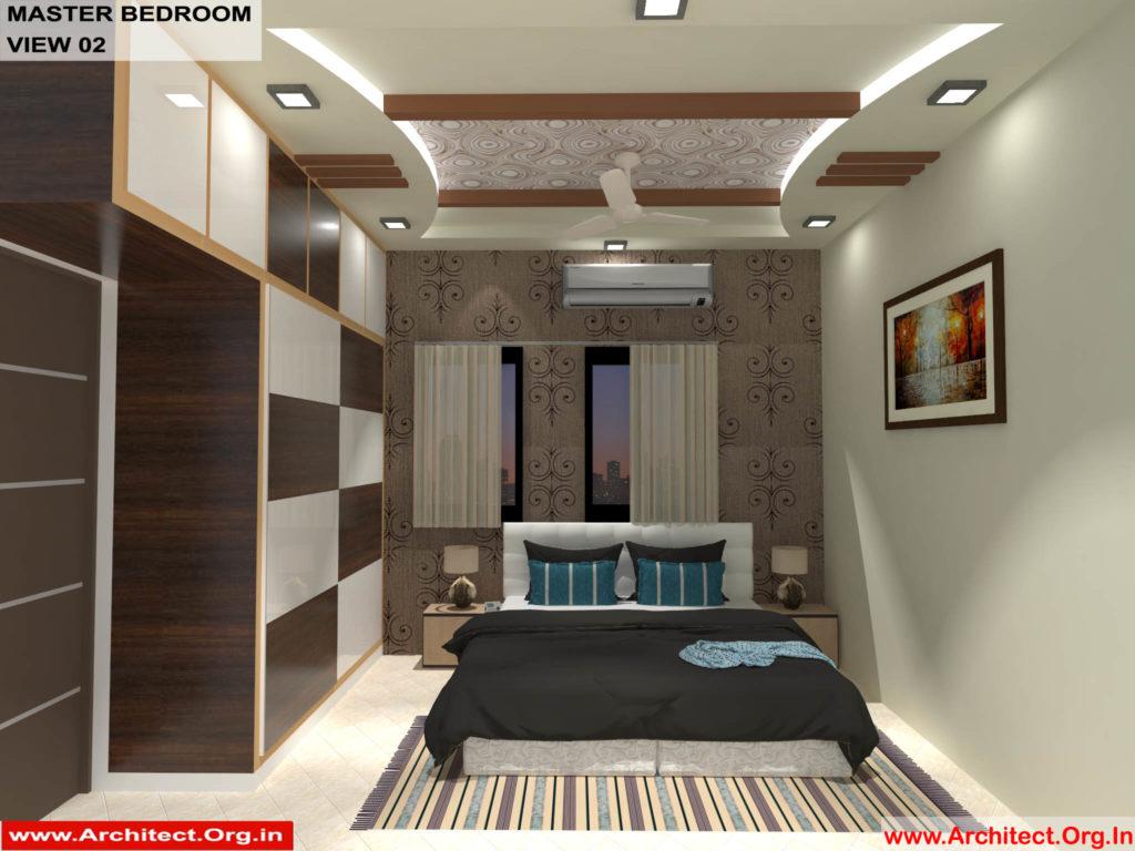 Mr.Shibu-Cuttuck Odisha-House interior-Master bedroom-View-02