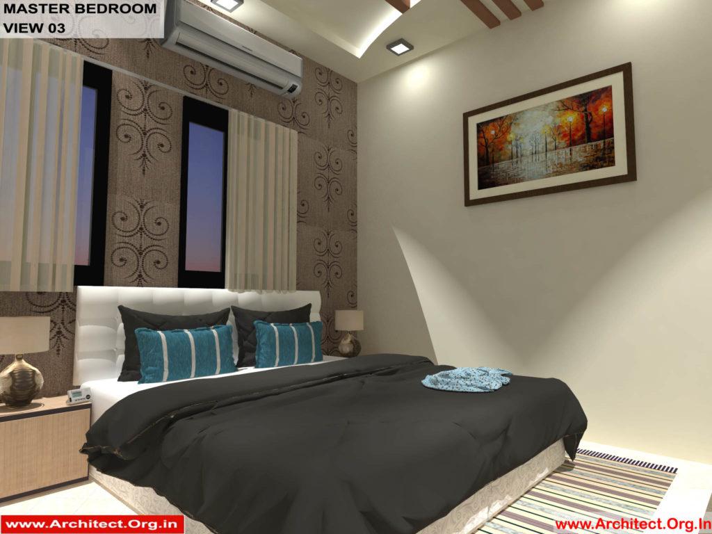 Mr.Shibu-Cuttuck Odisha-House interior-Master bedroom-View-03