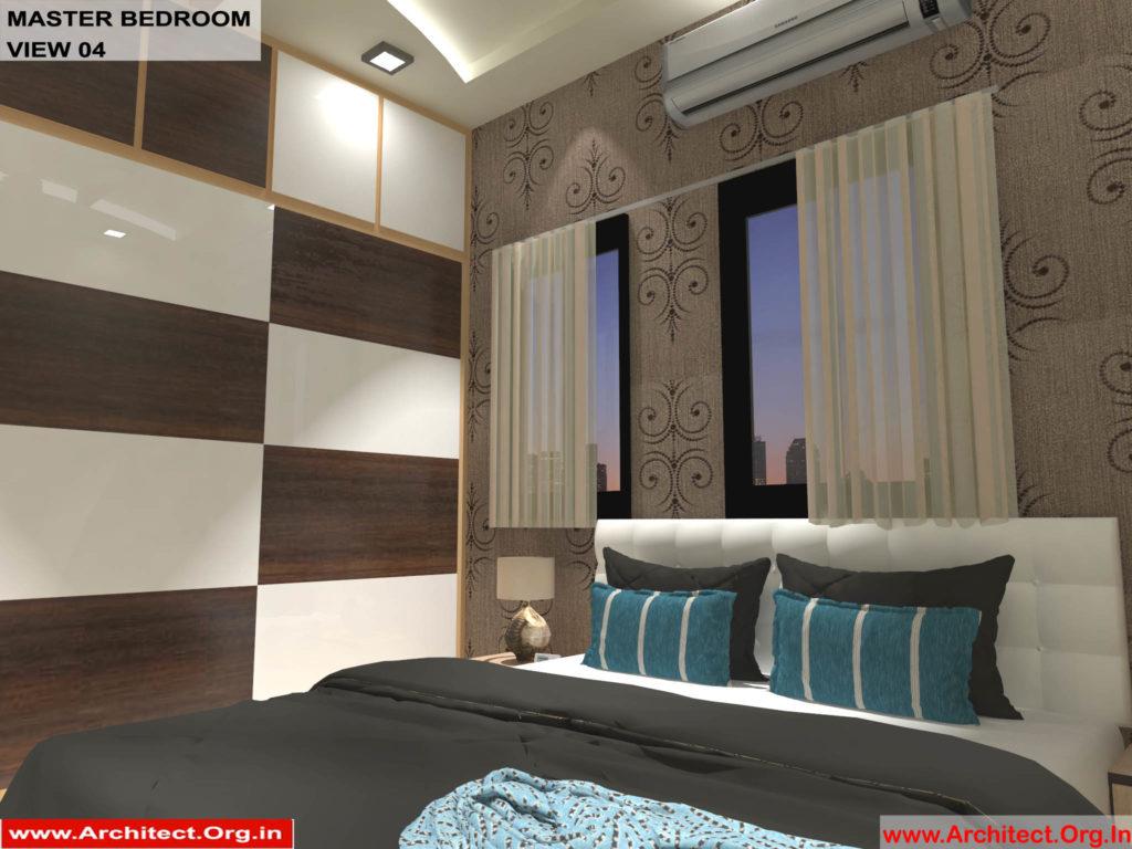 Mr.Shibu-Cuttuck Odisha-House interior-Master bedroom-View-04