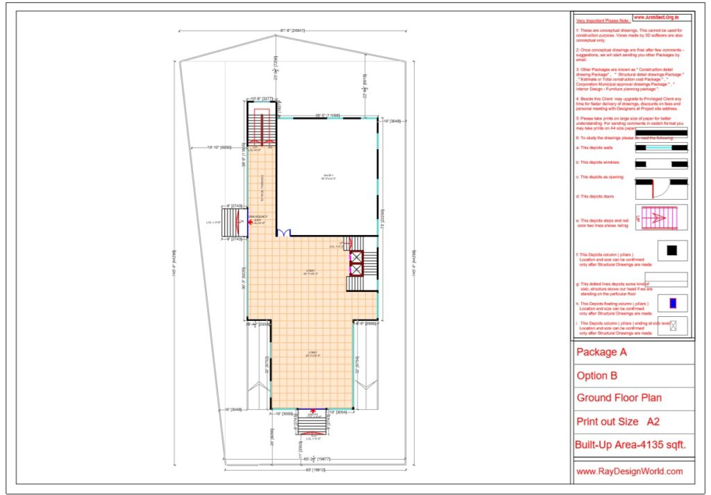 Mr.Srinivas Sudala-Nabarangpur Odisha- Shopping Complex with Multiplex- Ground Floor Plan