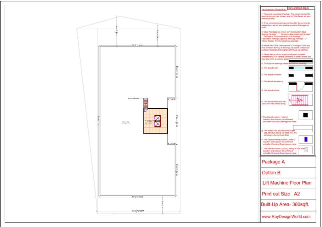 Mr.Srinivas Sudala-Nabarangpur Odisha- Shopping Complex with Multiplex- Lift Machine Floor Plan