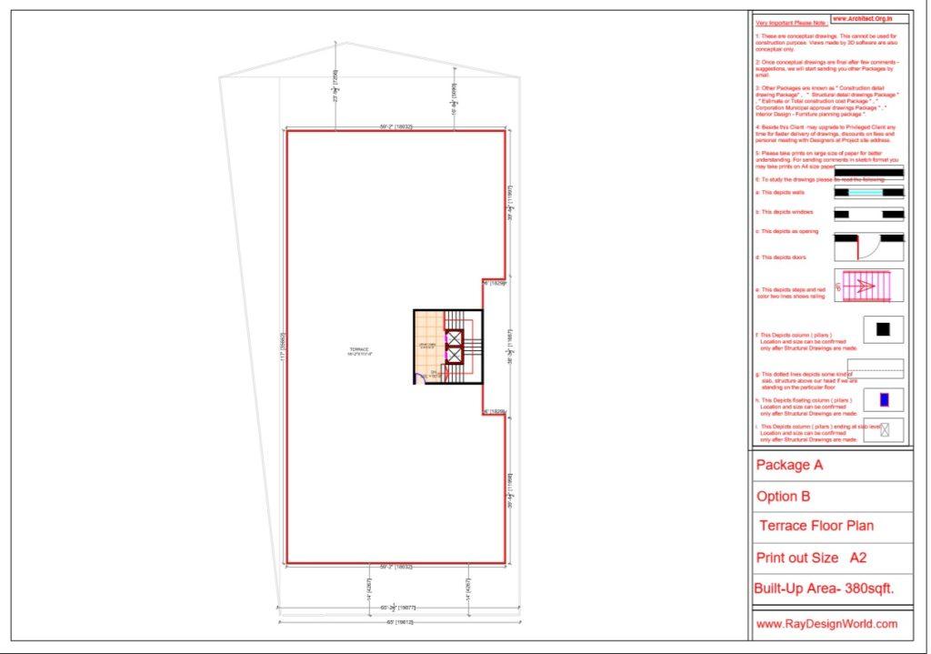 Mr.Srinivas Sudala-Nabarangpur Odisha- Shopping Complex with Multiplex- Terrace Floor Plan
