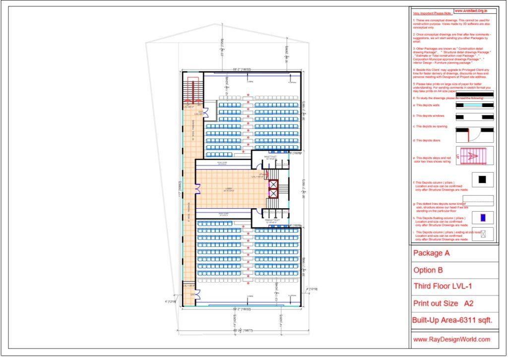 Mr.Srinivas Sudala-Nabarangpur Odisha- Shopping Complex with Multiplex- Third Floor LVL-1