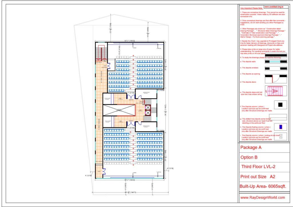 Mr.Srinivas Sudala-Nabarangpur Odisha- Shopping Complex with Multiplex- Third Floor LVL-2
