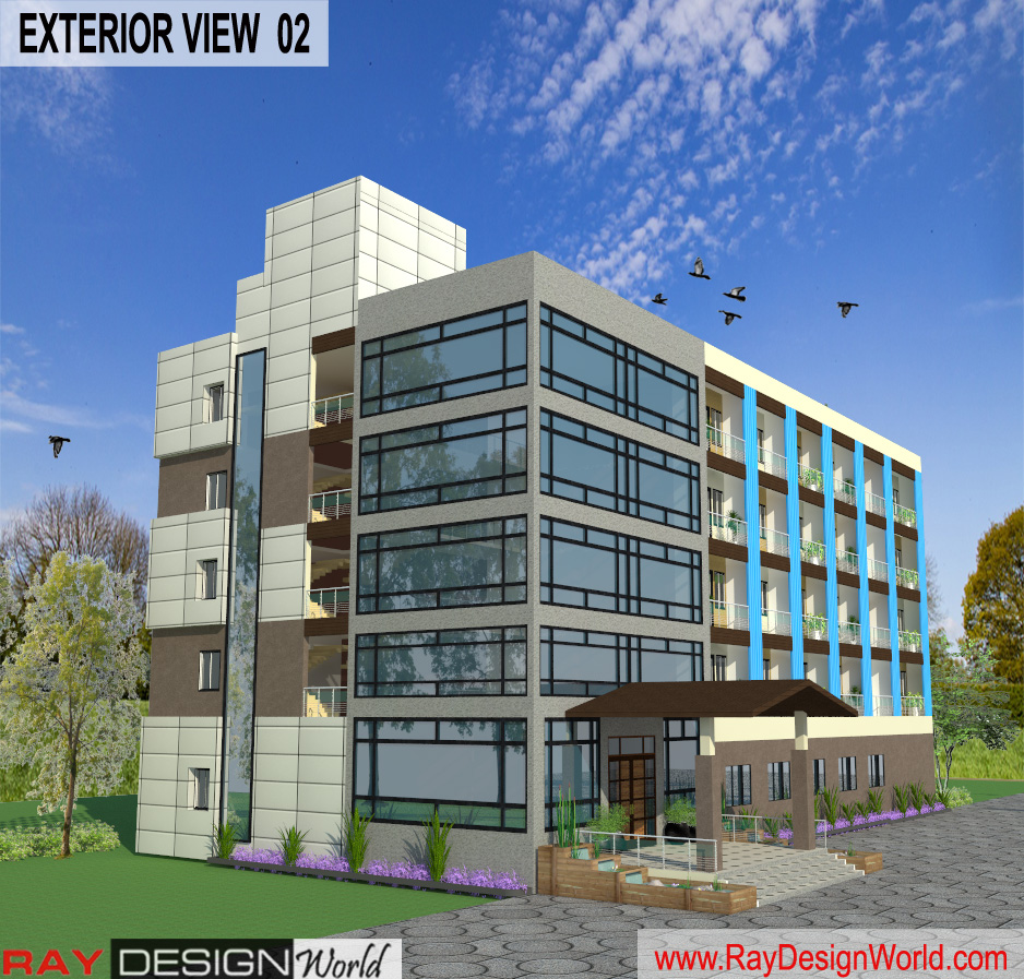 Mr.Vivek-Gupta-Gwalior-M.P-Hotel-3d-Exterior-View-02