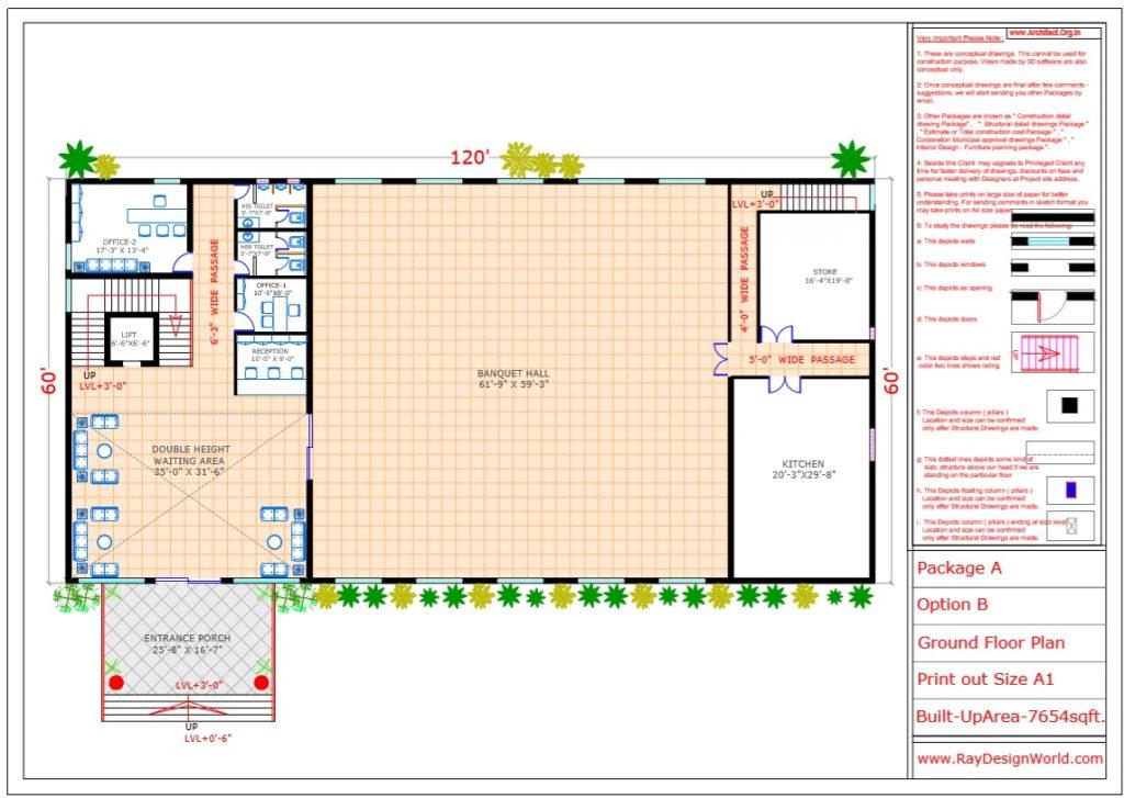 Mr.Vivek-Gupta-Gwalior-M.P-Hotel-Ground-Floor-Plan-Option-B