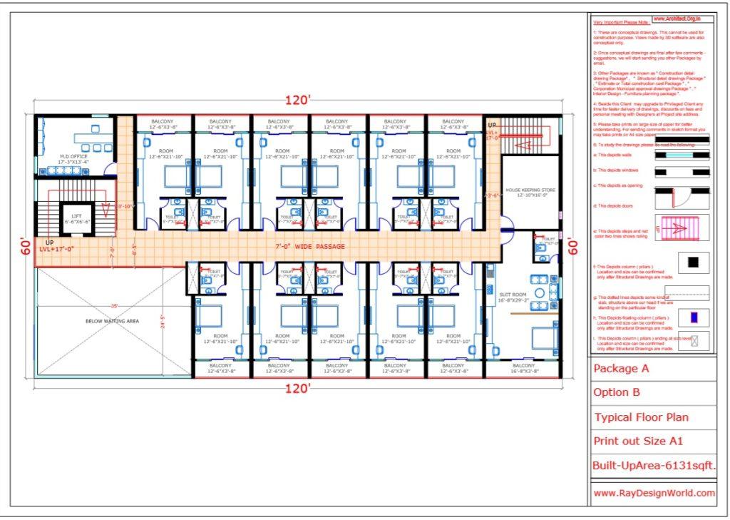 Mr.Vivek-Gupta-Gwalior-M.P-Hotel-Typical-Floor-Plan-Option-B