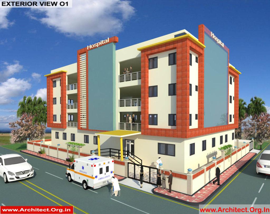 Dr.Saravanan Gobinathan-Coimbotre Tamilnadu-Hospital-3D Exterior View-01