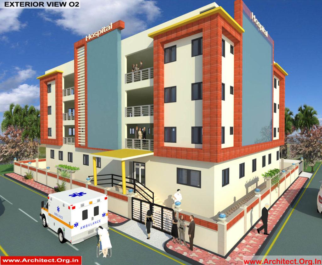 Dr.Saravanan Gobinathan-Coimbotre Tamilnadu-Hospital-3D Exterior View-02
