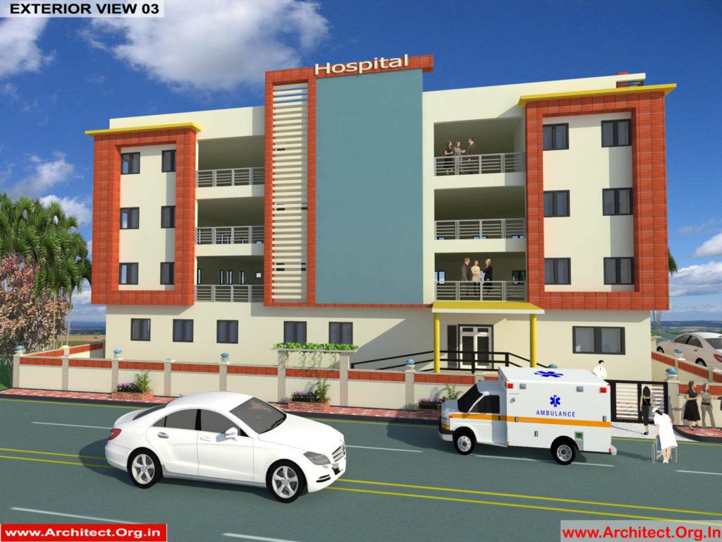 Dr.Saravanan Gobinathan-Coimbotre Tamilnadu-Hospital-3D ExteriornView-03