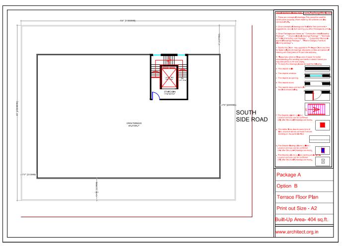 Dr.Saravanan Gobinathan-Coimbotre Tamilnadu-Hospital-Terrace Floor Plan