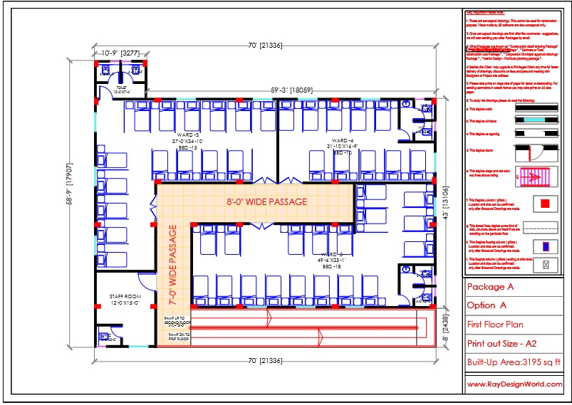 Dr.Krishna-Jhansi Uttar pradesh-Hospital-First Floor Plan