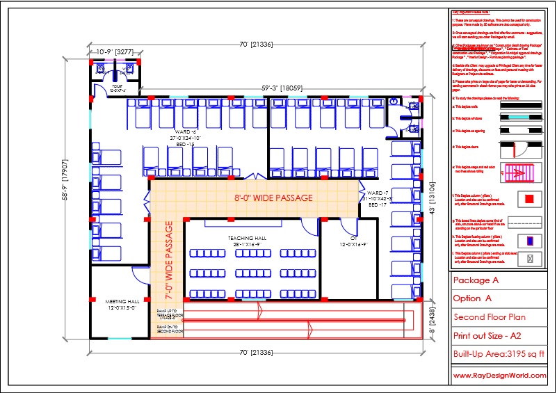 Dr.Krishna-Jhansi Uttar pradesh-Hospital-Second Floor Plan