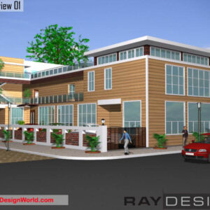 Guest House Exterior Design view 01 - Rampur Uttar Pradesh - Mr. Alok Kumar Jindal