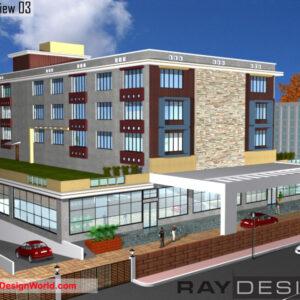 Hotel Exterior Design view 03 - Mahiar Madhya Pradesh - Mr. Amit Agrawal