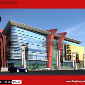 Multiplex Exterior Design - Hospet Andhra Pradesh - Mr. Ananth Narayan
