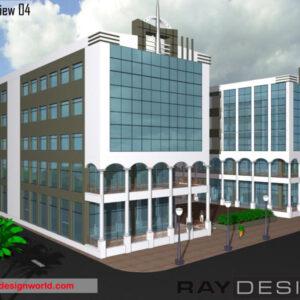 Shopping Complex Exterior view 04 - Dehradoon Uttarakhand - Mr.Bajaj