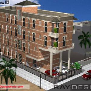 Apartment Exterior Design view 03 - Alipurduar West Bengal - Mr. Bidyut Bhowal