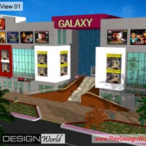 Multiplex Exterior Design view 01 - Ongole Andhra Pradesh - Mr. Birudaraju