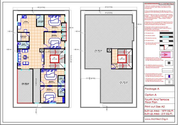 Mr.Mahesh-Jamalpur Hyderabad-Apartment-Fourth And Terrace Floor Plan