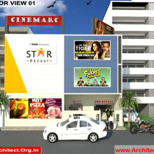 Mr.Sanjay Shah-Multiplex-Alirajpur MP-3d Exterior view-01