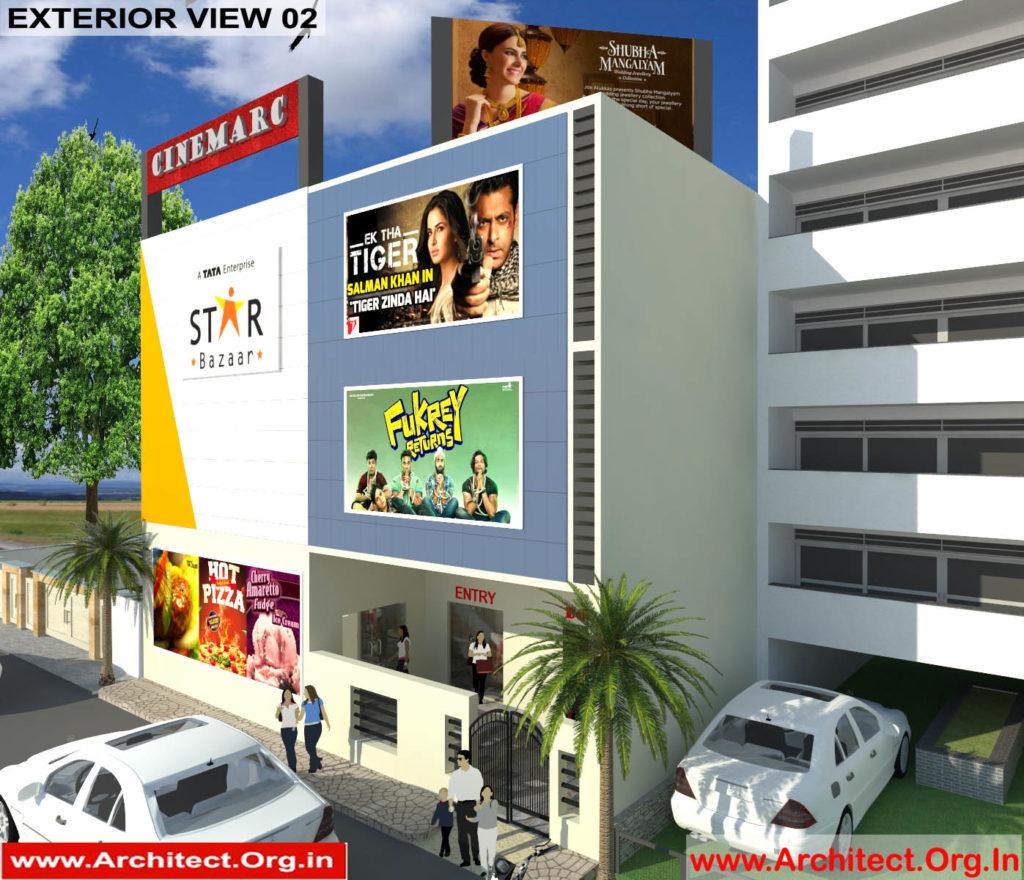Mr.Sanjay Shah-Multiplex-Alirajpur MP-3d Exterior view-02