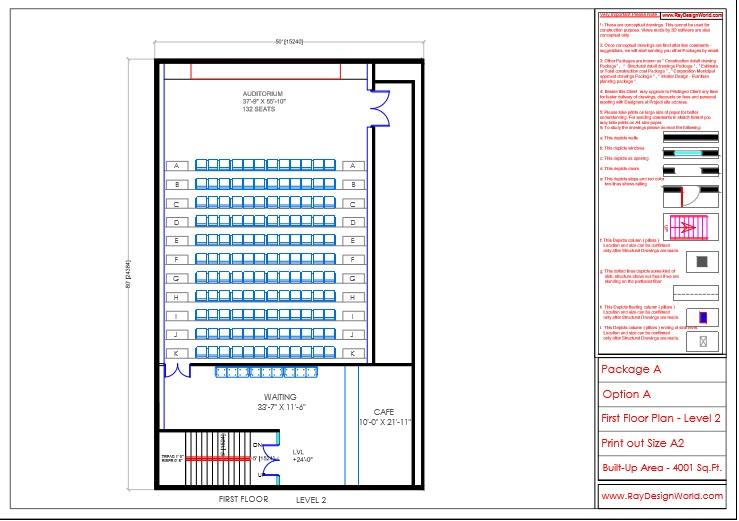 Mr.Sanjay Shah-Multiplex-Alirajpur MP-First floor plan Level-2