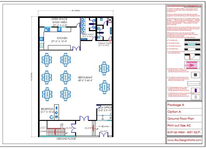 Mr.Sanjay Shah-Multiplex-Alirajpur MP-Ground floor plan